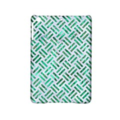 Woven2 White Marble & Green Marble (r) Ipad Mini 2 Hardshell Cases