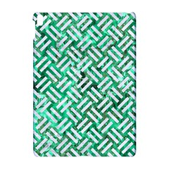 Woven2 White Marble & Green Marble Apple Ipad Pro 10 5   Hardshell Case by trendistuff