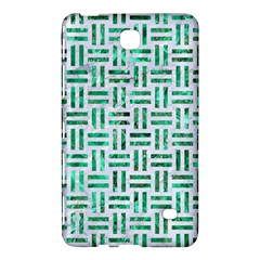 Woven1 White Marble & Green Marble (r) Samsung Galaxy Tab 4 (8 ) Hardshell Case  by trendistuff