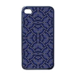 Modern Orante Pattern Apple Iphone 4 Case (black) by dflcprints