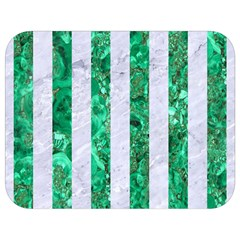 Stripes1 White Marble & Green Marble Full Print Lunch Bag by trendistuff