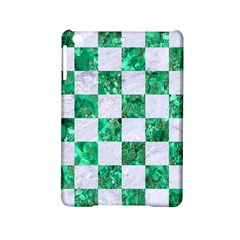 Square1 White Marble & Green Marble Ipad Mini 2 Hardshell Cases by trendistuff