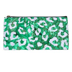 Skin5 White Marble & Green Marble (r) Pencil Cases by trendistuff
