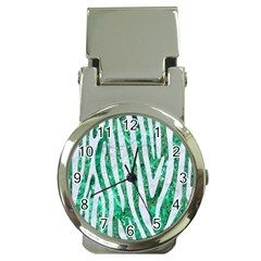 Skin4 White Marble & Green Marble (r) Money Clip Watches by trendistuff