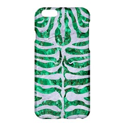 Skin2 White Marble & Green Marble Apple Iphone 6 Plus/6s Plus Hardshell Case by trendistuff