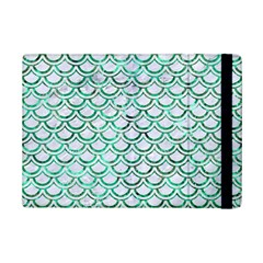 Scales2 White Marble & Green Marble (r) Ipad Mini 2 Flip Cases by trendistuff