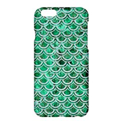 Scales2 White Marble & Green Marble Apple Iphone 6 Plus/6s Plus Hardshell Case by trendistuff