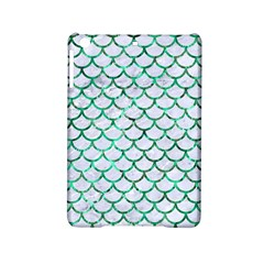 Scales1 White Marble & Green Marble (r) Ipad Mini 2 Hardshell Cases by trendistuff