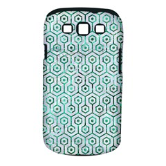Hexagon1 White Marble & Green Marble (r) Samsung Galaxy S Iii Classic Hardshell Case (pc+silicone) by trendistuff