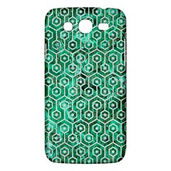 Hexagon1 White Marble & Green Marble Samsung Galaxy Mega 5 8 I9152 Hardshell Case  by trendistuff
