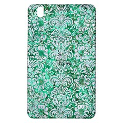 Damask2 White Marble & Green Marble Samsung Galaxy Tab Pro 8 4 Hardshell Case