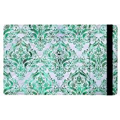 Damask1 White Marble & Green Marble (r) Ipad Mini 4