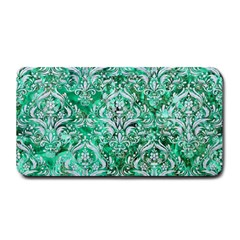 Damask1 White Marble & Green Marble Medium Bar Mats by trendistuff