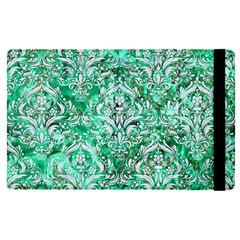 Damask1 White Marble & Green Marble Ipad Mini 4 by trendistuff