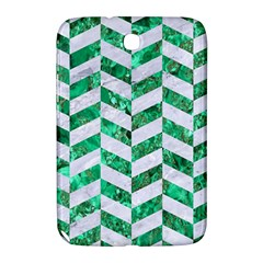 Chevron1 White Marble & Green Marble Samsung Galaxy Note 8 0 N5100 Hardshell Case