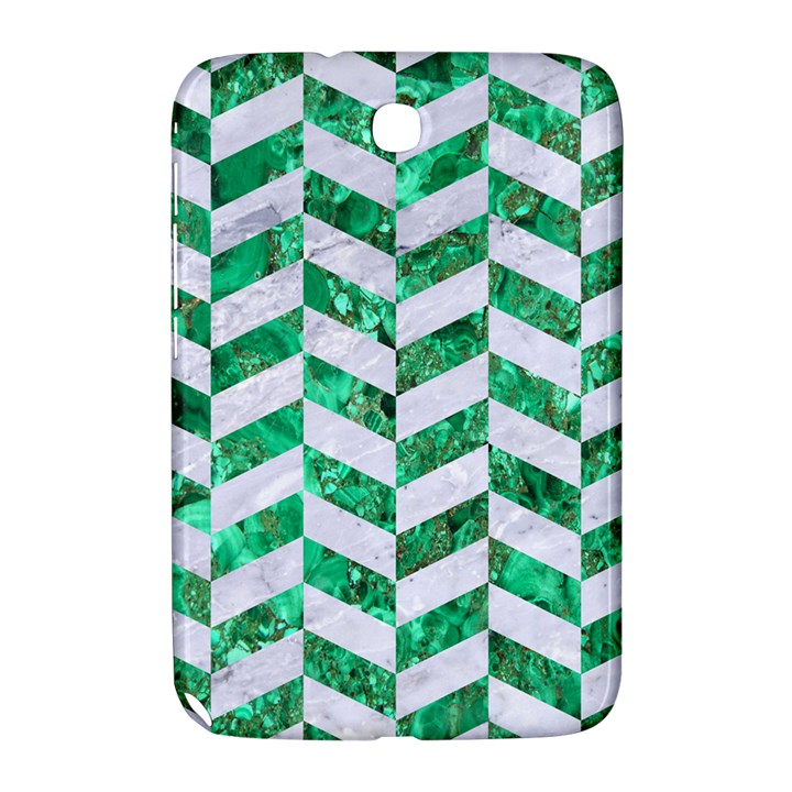 CHEVRON1 WHITE MARBLE & GREEN MARBLE Samsung Galaxy Note 8.0 N5100 Hardshell Case