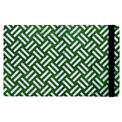 Woven2 White Marble & Green Leather Ipad Mini 4 by trendistuff