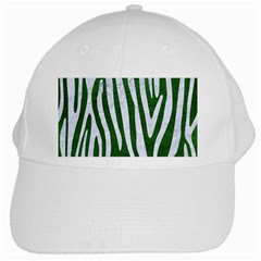 Skin4 White Marble & Green Leather (r) White Cap by trendistuff