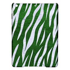 Skin3 White Marble & Green Leather Ipad Air Hardshell Cases by trendistuff