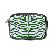 Skin2 White Marble & Green Leather (r) Coin Purse by trendistuff