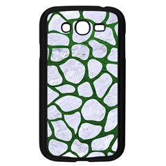 Skin1 White Marble & Green Leather Samsung Galaxy Grand Duos I9082 Case (black) by trendistuff