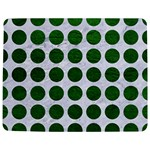 CIRCLES1 WHITE MARBLE & GREEN LEATHER (R) Jigsaw Puzzle Photo Stand (Rectangular) Front
