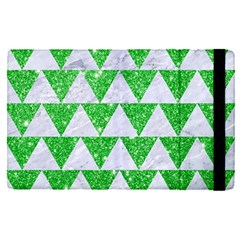 Triangle2 White Marble & Green Glitter Ipad Mini 4