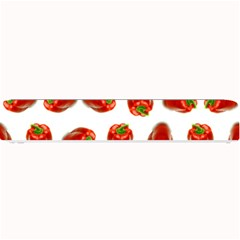 Red Peppers Pattern Small Bar Mats by SuperPatterns