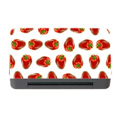 Red Peppers Pattern Memory Card Reader With Cf by SuperPatterns