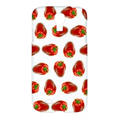Red Peppers Pattern Samsung Galaxy S4 I9500/i9505 Hardshell Case