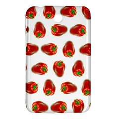 Red Peppers Pattern Samsung Galaxy Tab 3 (7 ) P3200 Hardshell Case  by SuperPatterns