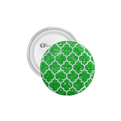 Tile1 White Marble & Green Glitter 1 75  Buttons by trendistuff