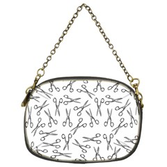 Scissors Pattern Chain Purses (two Sides)