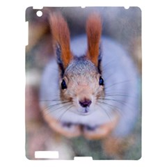 Squirrel Looks At You Apple Ipad 3/4 Hardshell Case by FunnyCow