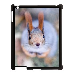 Squirrel Looks At You Apple Ipad 3/4 Case (black) by FunnyCow