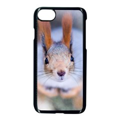 Squirrel Looks At You Apple Iphone 7 Seamless Case (black) by FunnyCow