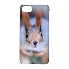 Squirrel Looks At You Apple Iphone 8 Hardshell Case by FunnyCow
