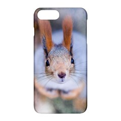 Squirrel Looks At You Apple Iphone 8 Plus Hardshell Case by FunnyCow