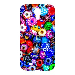 Colorful Beads Samsung Galaxy S4 I9500/i9505 Hardshell Case by FunnyCow