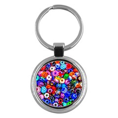 Colorful Beads Key Chains (round)  by FunnyCow