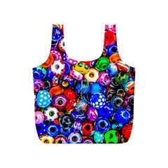 Colorful Beads Full Print Recycle Bags (s)  by FunnyCow