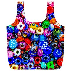 Colorful Beads Full Print Recycle Bags (l)  by FunnyCow