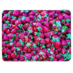 Pile Of Red Strawberries Samsung Galaxy Tab 7  P1000 Flip Case by FunnyCow