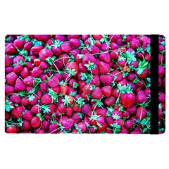 Pile Of Red Strawberries Apple Ipad Pro 12 9   Flip Case by FunnyCow