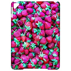 Pile Of Red Strawberries Apple Ipad Pro 9 7   Hardshell Case by FunnyCow