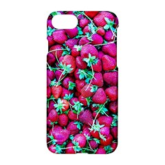 Pile Of Red Strawberries Apple Iphone 7 Hardshell Case by FunnyCow