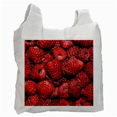 Red Raspberries Recycle Bag (two Side)  by FunnyCow