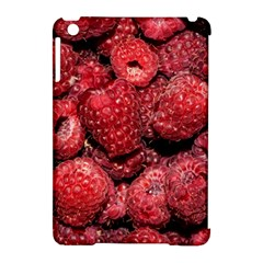 Red Raspberries Apple Ipad Mini Hardshell Case (compatible With Smart Cover) by FunnyCow