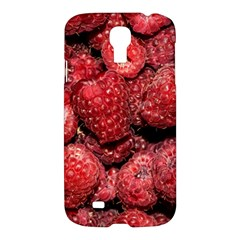 Red Raspberries Samsung Galaxy S4 I9500/i9505 Hardshell Case by FunnyCow