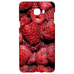 Red Raspberries Samsung C9 Pro Hardshell Case  by FunnyCow